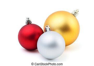 Christmas Ornament on white