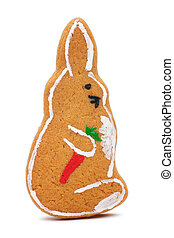Christmas ornament rabbit
