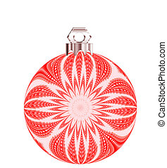 Christmas ornament illustration. Christmas ornament in a ...