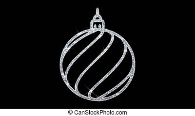 Christmas Ornament Sleigh Bell Element Blinking Icon ...