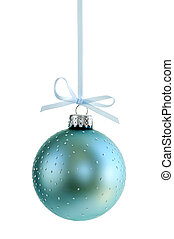 Christmas ornament - Speckled Christmas decoration hanging ...