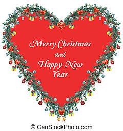 Christmas Ornamental Heart