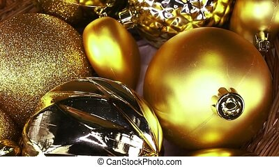 Christmas ornaments baubles bauble glass ball balls xmas...
