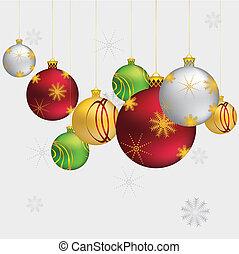 Christmas ornaments - Beautiful Christmas balls, decorative...