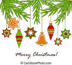 Christmas ornaments hanging - Christmas hanging ornaments...