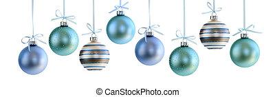 Christmas ornaments - Various Christmas decoration hanging ...