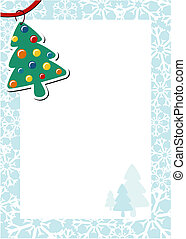 christmas page decoration
