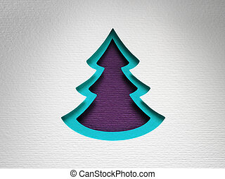 Christmas paper background texture papercraft theme.
