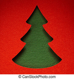 christmas paper background texture, papercraft theme -...