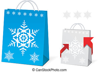 Christmas Paper Bag Design