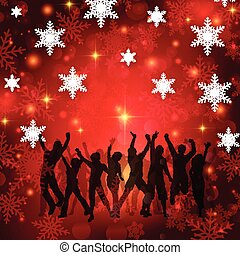 christmas party background 0411