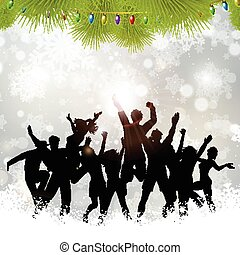 Christmas party background