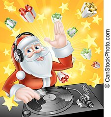 Christmas Party DJ Santa