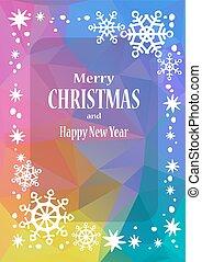 christmas pattern-09 - Christmas border with text frame....