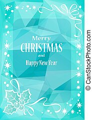 christmas pattern-12 - Christmas border with text frame....