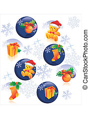 Christmas pattern decoration