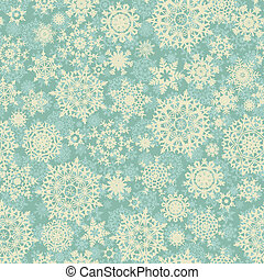 Christmas pattern snowflake background. EPS 8