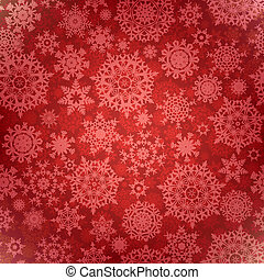 Christmas pattern snowflake background. EPS 8