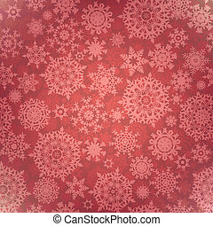 Christmas pattern snowflake, seamless. EPS 8