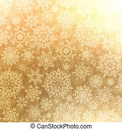 Christmas pattern snowflake, seamless. EPS 8