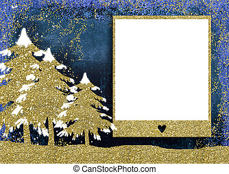 Christmas photo frame cards.