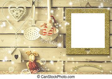 Christmas photo frames cards