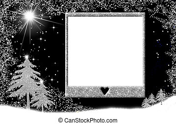Christmas picture frame cards