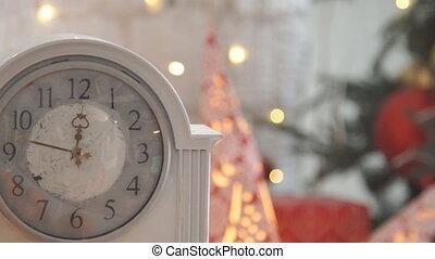 Christmas pocket watch still life. - Christmas pocket watch...