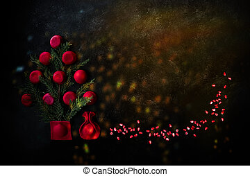Christmas Pomegranate Ravioli