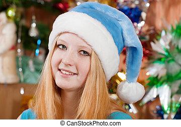 Christmas portrait