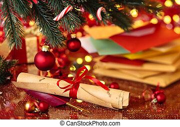 Christmas post.