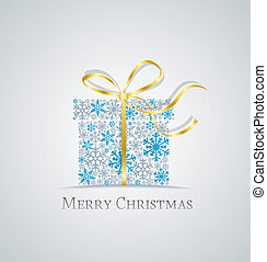 christmas present - Christmas present box made from ...