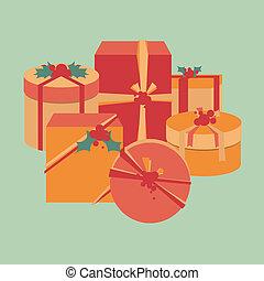 Christmas present collection