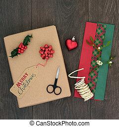 Christmas Present Gift Wrapping