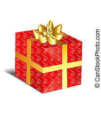 Christmas Present - Red