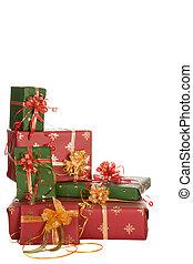 Christmas presents corner