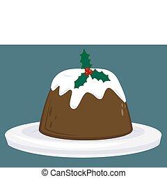 christmas pudding - A Christmas pudding