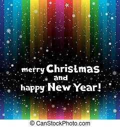 Christmas rainbow stripe backdrop