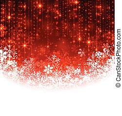 Christmas red abstract background.