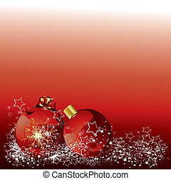 christmas red background vector design