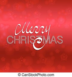 Christmas red background with text.