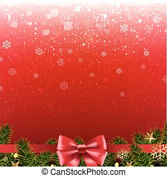 Christmas Red Poster
