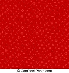 Christmas red seamless background. Holiday pattern. Vector illustration.