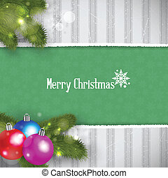 Christmas Retro Background