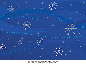 Christmas retro background. Vector illustration.