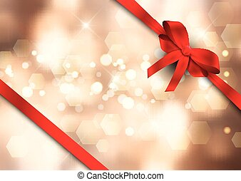 christmas ribbon background 0311
