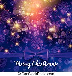 christmas ribbon background 2509