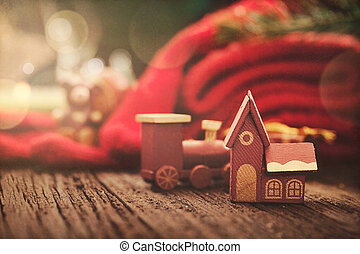 Christmas rustic decoration