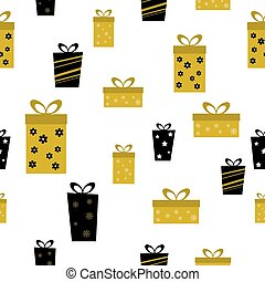 Christmas sale background with gift boxes