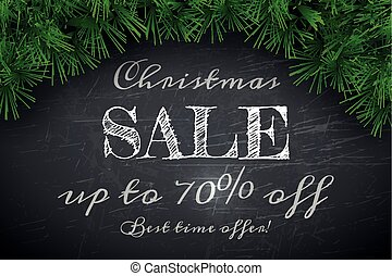 Christmas Sale Banner Design